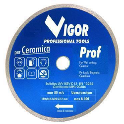 DISCO DIAMANTATO D.180X22 VIGOR C/C X CE