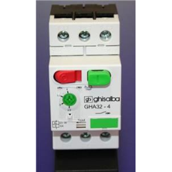 SALVAMOTORE MAGNETOTERMICO GHA32- 6.3