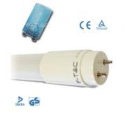 NEON LED cm.120 18W T8 L/BIANCA 6000°K 1