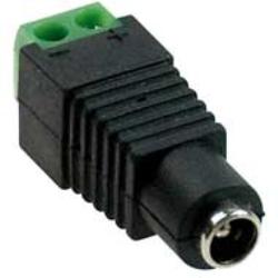 CONNETTORE PLUG 5,5X2,1 (SPIN.MAS. VITE)