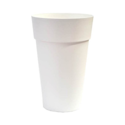 VASO ALTO HOUSTON CONICO 35 BIANCO