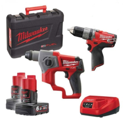 KIT MILWAUKEE 12V M12 CPP2B-602X FUEL