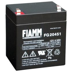 BATTERIE 12V 4,5A FIAMM FG20451