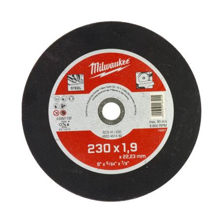 DISCHI TAGLIO FERRO 230X1,9 MILWAUKEE