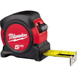 FLESSOMETRO  5 MT. MILWAUKEE mm.27 CS