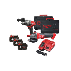 KIT MILWAUKEE 18V M18FPP2D2-503X