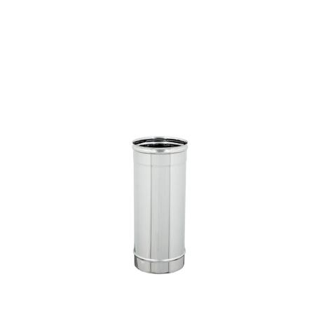 TUBI STUFA INOX LINEARE D. 80 L.500mm