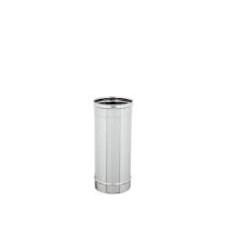 TUBI STUFA INOX LINEARE D.100 L.500mm