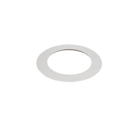 TUBI STUFA INOX ROSONE CIRCOLARE D. 80