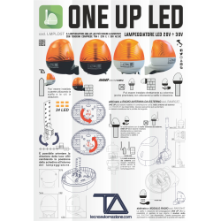 LAMPEGGIATORE TA ONE UP LED