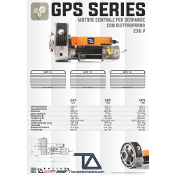MOTORE PER SARACINESCA TA GPS120 230V