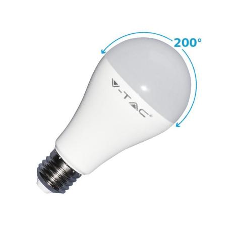 LAMPADE LED GOCCIA E27 17W L/NATURA VTAC