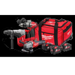 TRAPANO A BATT. MILWAUKEE M18SET3A-953B