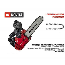 MOTOSEGA EINHELL GC-PC 930 KIT 900W