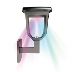 LAMPADA SOLARE XANLITE APPLIQUE DISCO