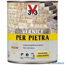 V33 VERNICE X PIETRA LT.2,5 INCOLORE SAT