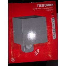 TELEFUNKEN APPLIQUE SILVER LED 7W C/SENS